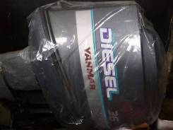 Yanmar. 36,00л.с., 4х тактный, дизель, нога X (635 мм), Год: 2002 год