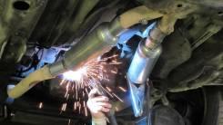 Ремонт глушителей, ремонт подвески, шиномонтаж, ремонт глушителей.