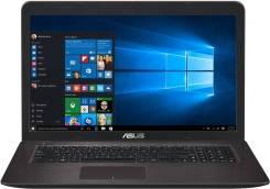"Asus. 17.3"", ОЗУ 6144 МБ, диск 500 Гб, WiFi, Bluetooth"