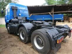Камаз 6460. КамАЗ 6460 с двухспальной кабиной, 11 762 куб. см., 50 000 кг.