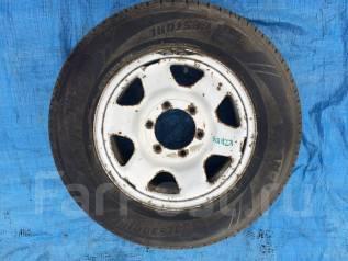 Запасное колесо 215/65 R15 Hiace. 6.0x15 6x139.70 ET30 ЦО 106,1мм.