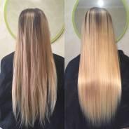 Ботокс для волос. Кератин. Тритмент для волос. Полировка волос 500 руб