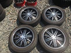 Japan диски G-Corporation Estatus Style-RT67+шины Dunlop SP Sport 270. 8.0x19 5x114.30 ET38