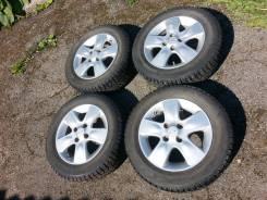 Продам колеса R14 кама шипованные на литье. 4x100.00
