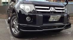 Обвес кузова аэродинамический. Mitsubishi Pajero, V80. Под заказ