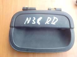 Ручка двери внешняя. Mitsubishi Chariot, N38W Двигатель 4D68