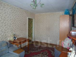 3-комнатная, улица Краснореченская 117. Индустриальный, агентство, 56 кв.м.