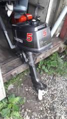 Tohatsu. 5,00л.с., 2-тактный, бензиновый, нога S (381 мм), Год: 2000 год