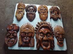 Продам маски из дерева