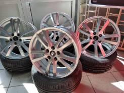 Hyundai. 7.5x18, 5x114.30, ET41, ЦО 67,1мм.