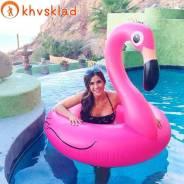 """""""Розовый фламинго"""" модный круг для пляжа и бассейна. Под заказ"""