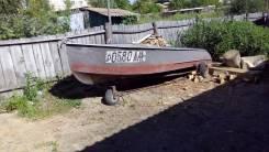 Казанка-М. Год: 1988 год, длина 4,00м., двигатель подвесной, 25,00л.с., бензин
