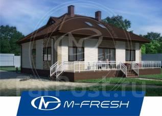 M-fresh TET-A-TET (Вам скидка 10%, если генплан не нужен! ). 100-200 кв. м., 1 этаж, 4 комнаты, бетон