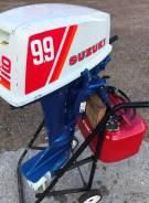 Suzuki. 9,90л.с., 2х тактный, бензин, нога S (381 мм), Год: 1995 год