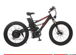 Электровелосипед фетбайк 48V1500W. Под заказ