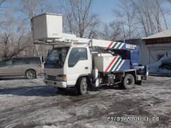 Isuzu Elf. Продается автовышка в новосибирске, 4 700 куб. см., 16 м.