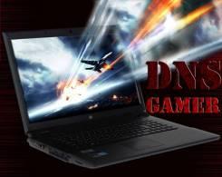 """DNS Gamer. 17.3"""", 2,5ГГц, ОЗУ 6144 МБ, диск 500 Гб, WiFi, аккумулятор на 2 ч."""