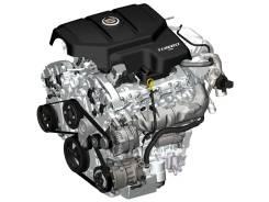 Двигатель 2.8B LAU на Cadillac