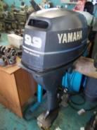Yamaha. 9,90л.с., 4-тактный, бензиновый, нога L (508 мм), Год: 2005 год