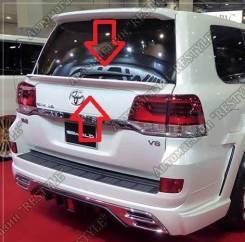 Спойлер на заднее стекло. Toyota Land Cruiser, J200, VDJ200, UZJ200W, GRJ200, URJ200, URJ202W, UZJ200, URJ202