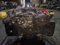 Двигатель в сборе. Subaru: Legacy B4, Forester, Impreza WRX, Legacy Lancaster, Outback, Legacy, Impreza WRX STI, Impreza, Exiga Двигатель EJ25