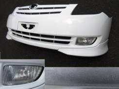 Бампер. Toyota Corolla Spacio, ZZE122N