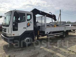 Daewoo Novus. 7 тонн c КМУ HTS 1335 (2017год), 5 890 куб. см., 7 000 кг.