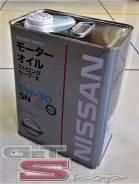 Nissan Extra Save. Вязкость 5W-30, гидрокрекинговое