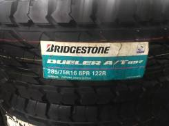 Bridgestone Dueler A/T D697. Грязь AT, 2015 год, без износа, 4 шт