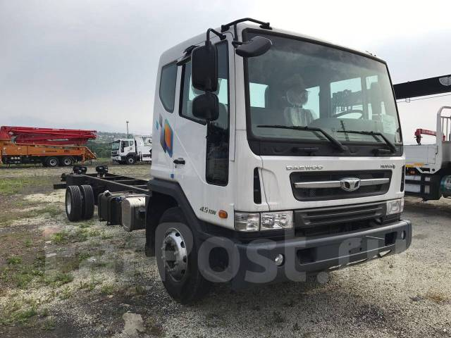 Daewoo Novus. Шасси 7 тонн 2017год, 5 890 куб. см., 7 000 кг.