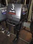 Sea-Pro. 3,00л.с., 2-тактный, бензиновый, нога S (381 мм), Год: 2017 год