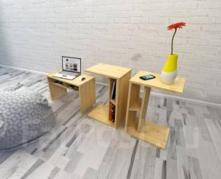 Мастер-класс. Журнальный столик из дерева своими руками