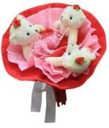 Набор для творчества Букет из мягких игрушек Love
