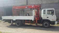 Hyundai HD. Продам грузовой автомобиль с манипулятором 170 в Новокузнец, 11 149 куб. см., 8 500 кг., 22 м.