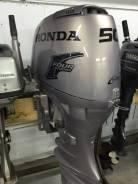 Honda. 50,00л.с., 4х тактный, бензин, нога L (508 мм), Год: 2003 год