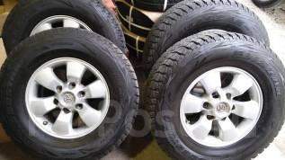 Toyota Hilux Surf. Зимние колеса Bridgestone Blizzak DM-V1 265/70R16. 7.0x16 6x139.70 ET30 ЦО 108,0мм.