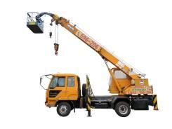 Автокран-вышка 21 метр 5 тонн