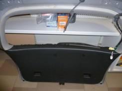 Обшивка двери багажника Toyota Spacio, ZZE комплект серо- черный
