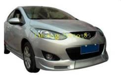 Обвес кузова аэродинамический. Mazda Mazda2
