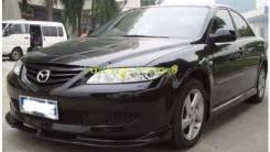 Обвес кузова аэродинамический. Mazda Mazda6, GY, GG, GH Двигатели: MZI, AJV6, MZR, LF17, MZRCD, RF5C, L813, L3C1, LF18. Под заказ