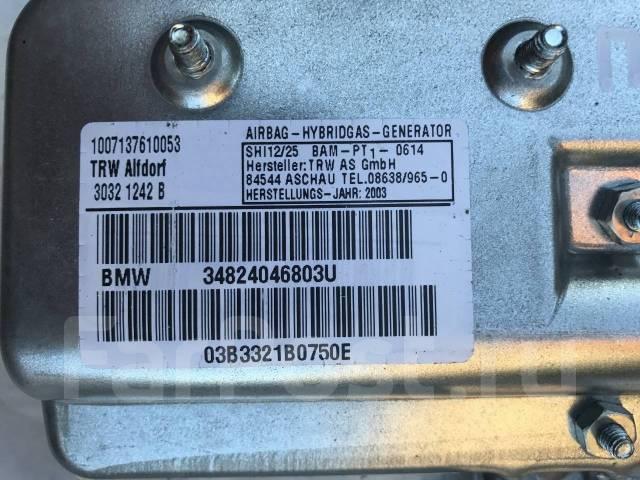 Подушка безопасности. BMW 7-Series, E66, E65