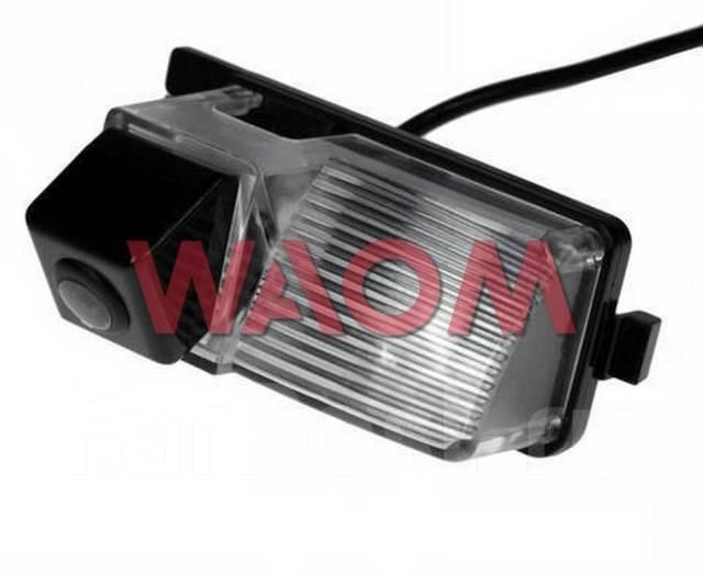 Камера заднего вида. Nissan Patrol, Y61 Nissan Tiida