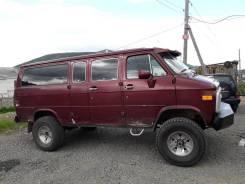 Chevrolet. Sport Van, 12 мест