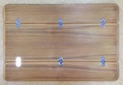 Тиковая столешница (раскрытая 60 x 90) 641292