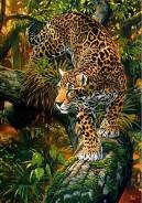 Пазл (мозаика) Леопард 2000 элементов