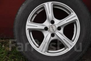Колеса 4x100 195/65R15 Nissan Opel VW Toyota Honda. 6.5x15 4x100.00 ET38 ЦО 73,1мм.