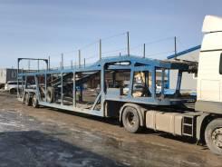 Нефаз. Полуприцеп автовоз, 19 998 кг.