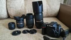 Nikon D7000 Kit. 15 - 19.9 Мп, зум: 7х