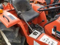 Hinomoto E2004. Мини-трактор с КУН и фреза (ПСМ нет), 1 200 куб. см.
