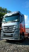 Mercedes-Benz Actros. Немецкий Тягач MB Actros 1844LS Megaspace из юбилейной серии, 12 000 куб. см., 18 000 кг.